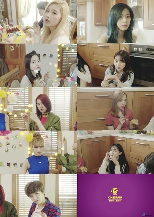 TWICE(トゥワイス)「CHEER UP」MVのティーザー映像を公開!