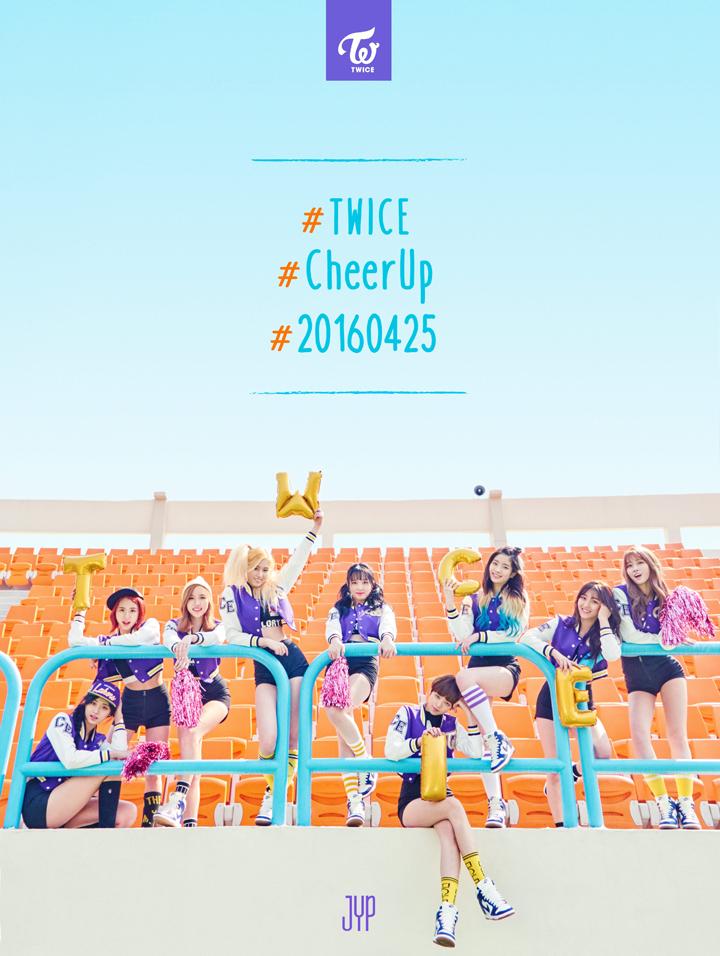 TWICE(トゥワイス)新曲「CHEER UP」のMVが公開