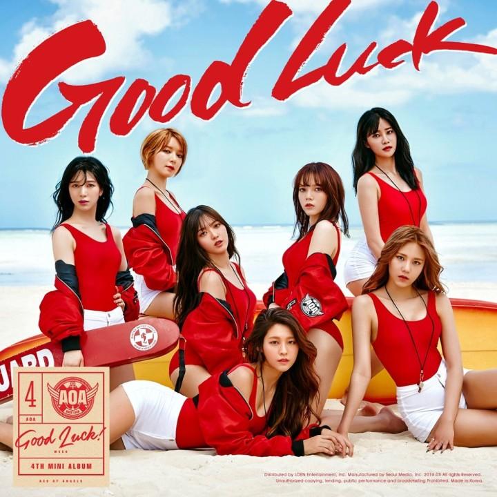 AOA新曲「Good Luck」のMVが公開