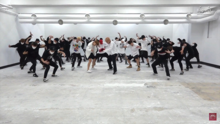 ダンス Bts on