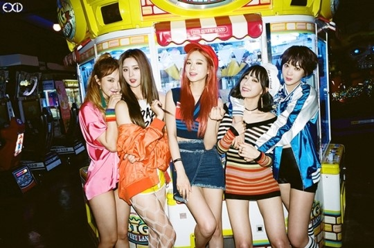 EXID 6月1日に1stフルアルバム「Street」をリリース