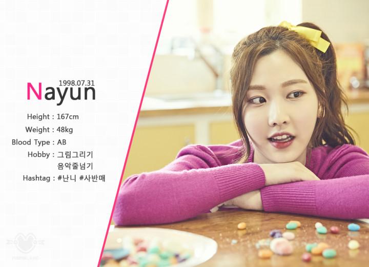 ナユン・Nayun(MOMOLAND)を韓国語では?名前・本名ハングル表記