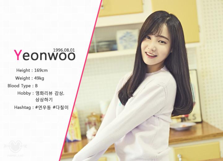 ヨンウ・ヨヌ・Yeonwoo(MOMOLAND)を韓国語では?名前・本名ハングル表記