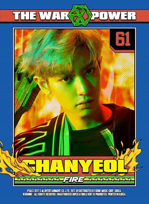 チャンヨル・CHANYEOL(EXO・エクソ)を韓国語では?チャニョルの名前・本名ハングル表記