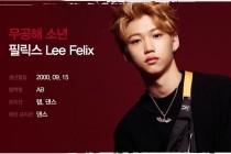 フィリックス・Felix(Stray Kids)を韓国語では?名前・本名ハングル表記