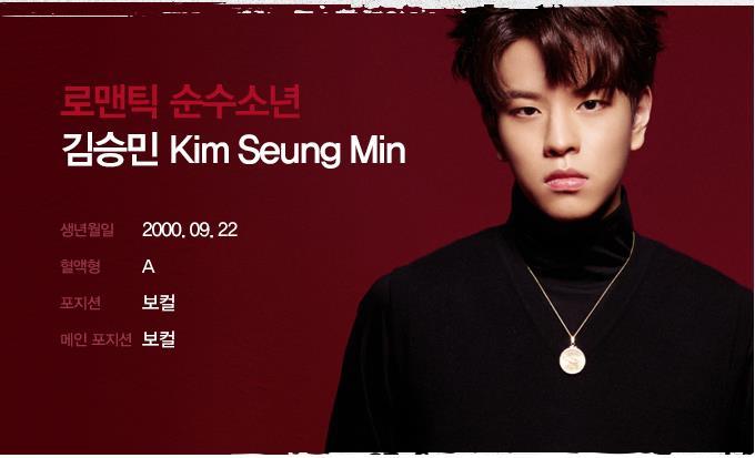 スンミン・Seungmin(Stray Kids)を韓国語では?名前・本名ハングル表記