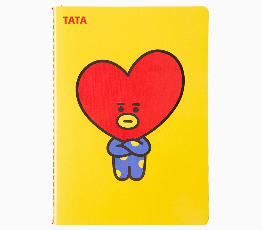 【BT21】TATAのプロフィール!読み方やデザインしたのは誰?